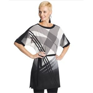 Travelers Collection Chico's Geometric Tunic Top